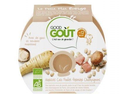Plat Complet - Haricots coco poulet fermier champignons