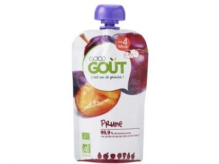 Gourde de fruits - Prune - 120g