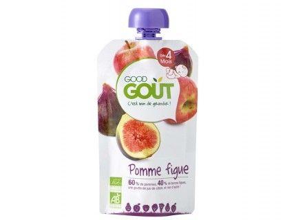 Gourde de fruits - Pomme figue 120g