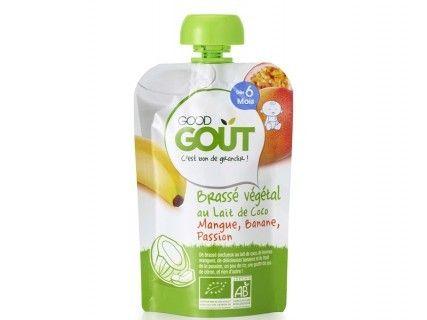 Brassé végétal Lait de coco Mangue Banane Passion