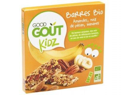 Kidz - Barres amandes noix de pécan bananes