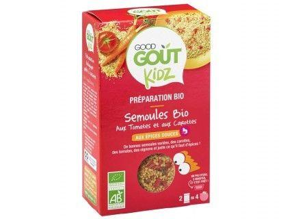 Kidz - Plat complet - Semoule tomates et carottes