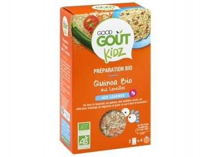 Kidz - Plat complet - Quinoa légumes du soleil