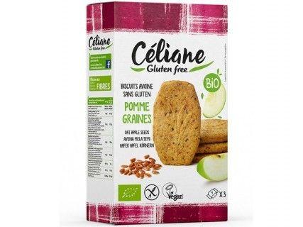 Biscuits petit-déjeuner avoine pomme graines