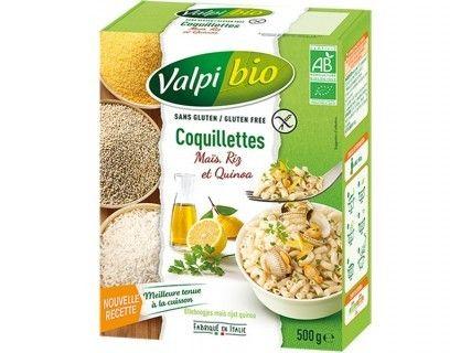 Coquillettes Maïs Riz Quinoa bio