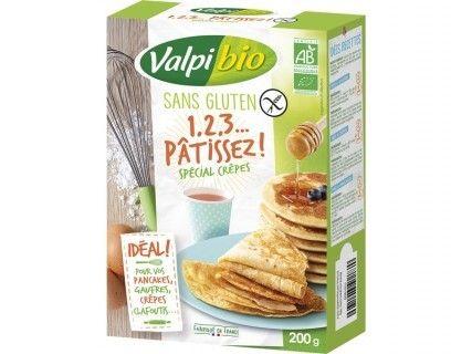 Mix 1,2,3 Pâtissez, spécial Crêpes bio