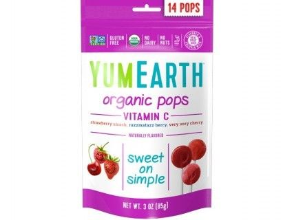 14 Sucettes Pops Fruits Rouges