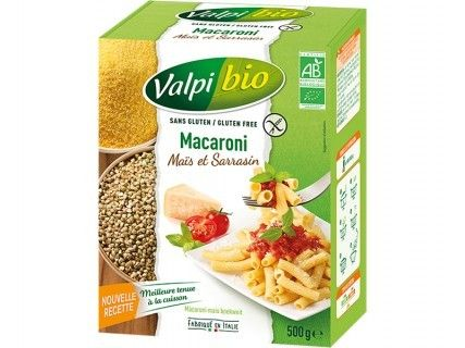 Macaroni Maïs - Sarrasin bio