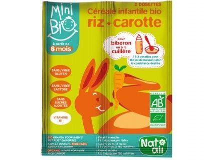 Céréales Minibio Carotte