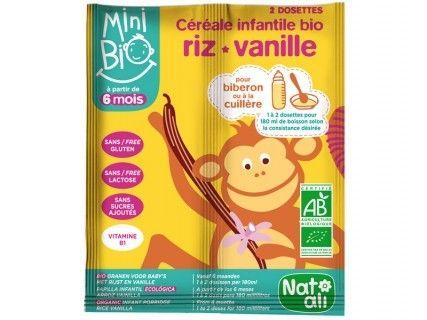 Céréales Minibio Vanille