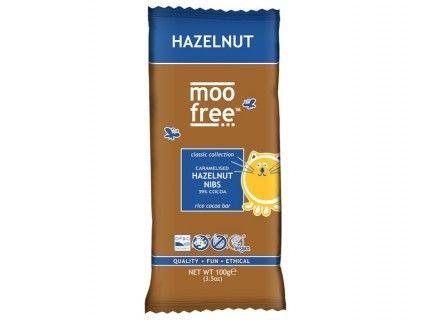 Tablette de Chocolat aux noisettes caramélisées, sans lait, sans œuf, sans gluten, sans soja - 100g