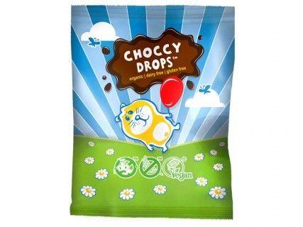 Pépites de chocolats (Choccy Drops), sans lait, sans œuf, sans gluten, sans soja - 25g