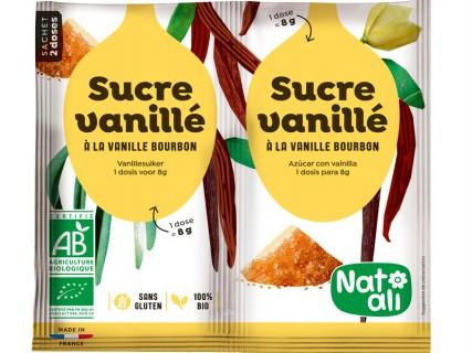 Sucre vanillé bio - Sachet 2 doses