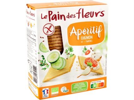 Tartines craquantes Apéritif Le Pain des Fleurs Oignon - 150g
