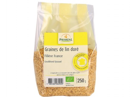 Graines de lin doré - 250g