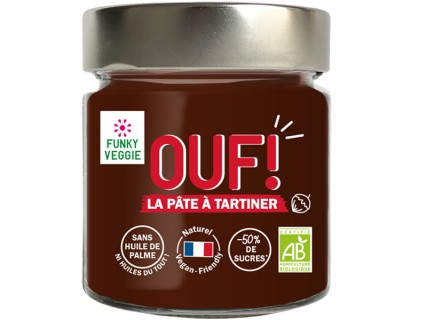 Pâte à tartiner OUF! Cacao - Noisettes - 200g