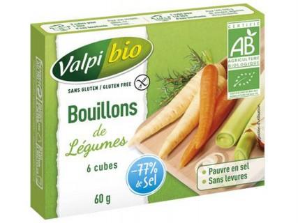 Bouillons de légumes - 6 cubes