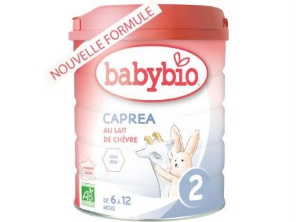 Lait infantile Caprea 2 - Nouvelle formule 800g