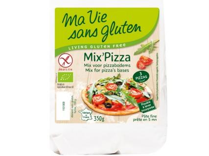 Mix' Pizza sans gluten sans maïs - 350g