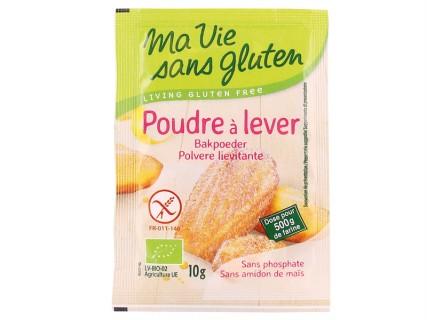 Poudre à lever sans gluten - 4 sachets de 10g