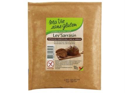 Lev'Sarrasin sans gluten - 50g