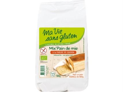 Mix' Pain de Mie à la farine de quinoa - 500g