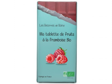 Tablette de fruits - Framboise Bio - 75g