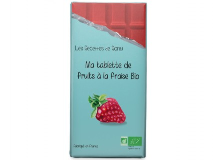 Tablette de fruits - Fraises Bio - 75g
