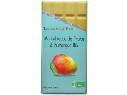 Tablette de fruits - Mangue Bio - 75g
