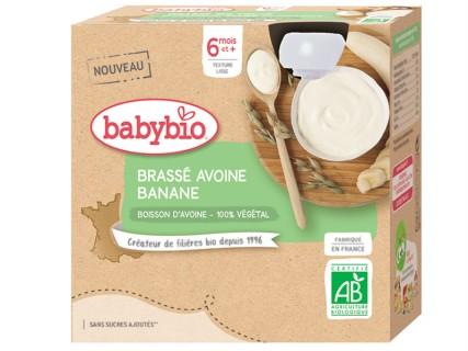 Brassés au Lait d'Avoine - Banane - 4x85g
