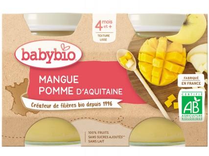 Pots Pomme Mangue - 2x130g