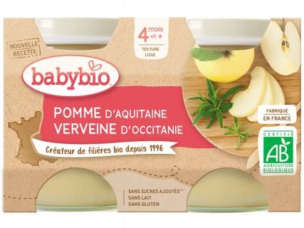 Pots Pomme d'Aquitaine Verveine - 2x130g