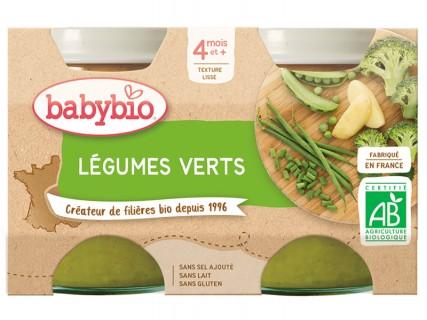 Pots Légumes verts, Pomme de terre - 2x130g