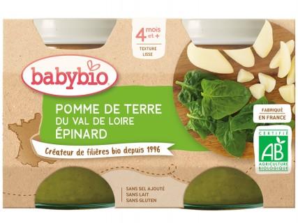 Pots Pomme de terre Epinards - 2x130g