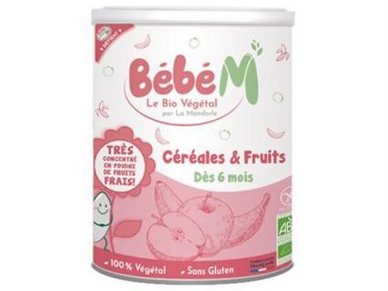 Céréales infantiles - fruits - 400g