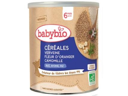 Céréales Verveine Fleur d'Oranger Camomille - 220g