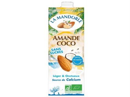 Lait Amande Coco - sans sucre - 1L