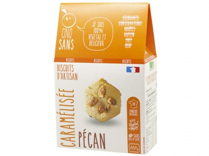 Biscuits Pécan Caramélisé Cinq Sans - 100g