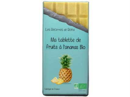Tablette de fruits - Ananas Bio - 75g