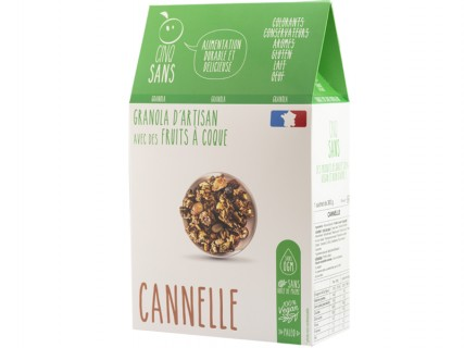 Granola Cannelle Cinq Sans - 300g