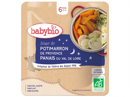 Soupe de Potimarron et Panais - Poche souple 190g