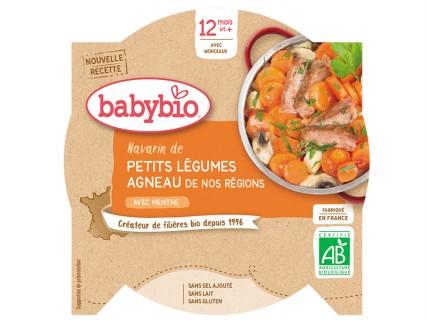 Assiette Navarin de petits légumes et d'agneau - 230g