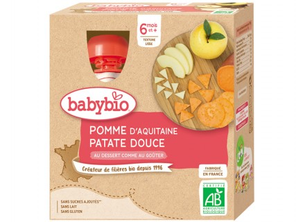 Gourdes Pomme Patate douce - 4x90g