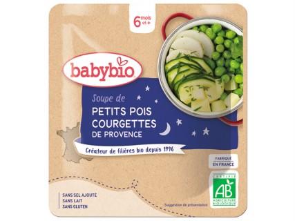 Soupe de Petit pois Courgette - Poche souple 190g