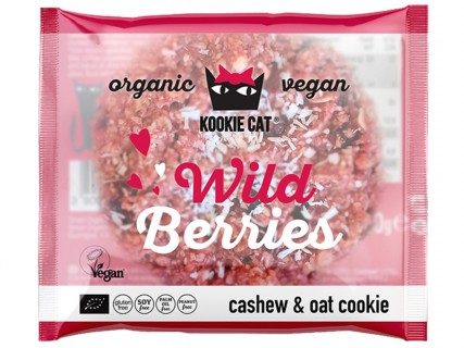 Cookie vegan, aux fruits des bois