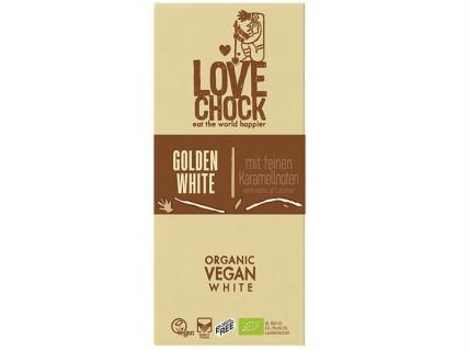 Tablette de Chocolat blanc aux notes de caramel - LoveChock - 70g