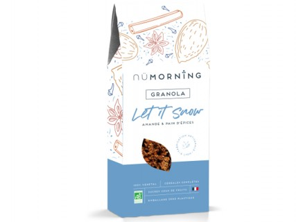 Granola Let it Snow NüMorning - 300g