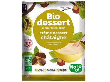 Biodessert Crème Châtaigne sans sucre ajouté