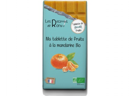 Tablette de fruits - Mandarine Bio - 80g