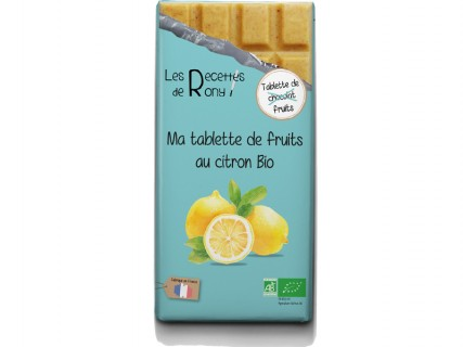 Tablette de fruits - Citron Bio - 80g